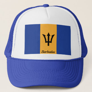 The Flag of Barbados Truckers Mesh Hat
