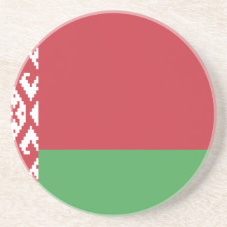 The Flag of Belarus Drink Coaster