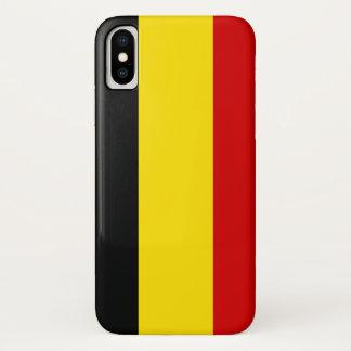 The Flag of Belgium iPhone X Case
