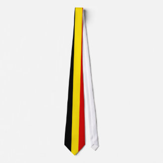 The Flag of Belgium Tie