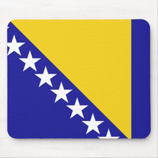 The flag of Bosnia and Herzegovina Mousepads