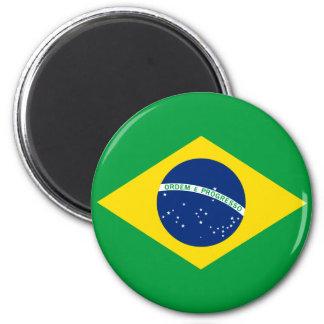 The Flag of Brazil Magnet