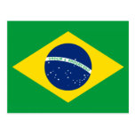 The Flag of Brazil Postcard