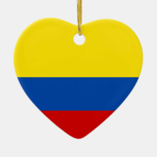 The Flag of Colombia Ornaments