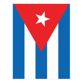 The Flag of Cuba Postcard