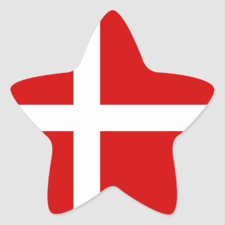 The Flag of Denmark Stickers