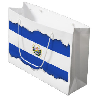 The flag of El Salvador Large Gift Bag