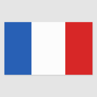The Flag of France Rectangular Sticker
