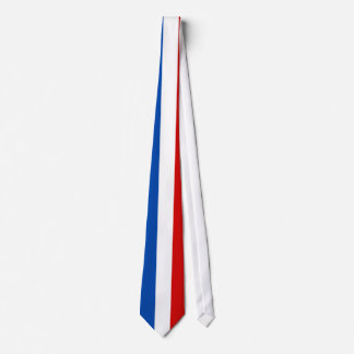 The Flag of France Tie