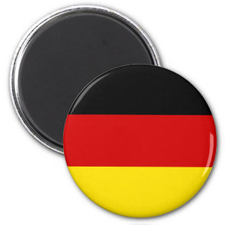 The Flag of Germany 6 Cm Round Magnet