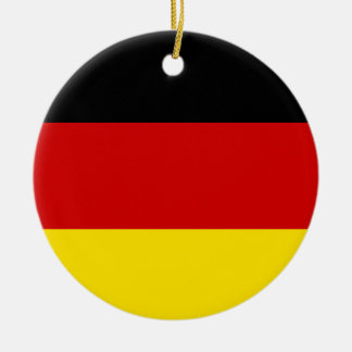 The Flag of Germany Christmas Ornament