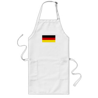 The Flag of Germany Long Apron