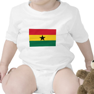 The Flag of Ghana Products Rompers
