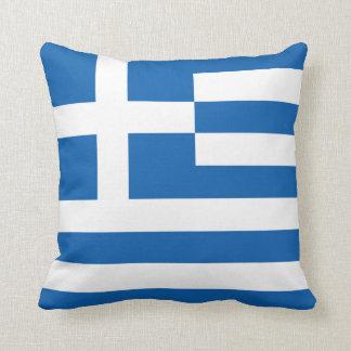 The Flag of Greece Cushion