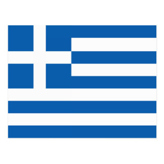 The Flag of Greece Post Cards