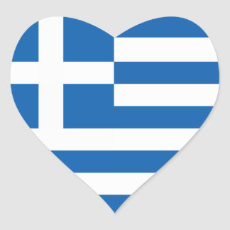 The Flag of Greece Sticker