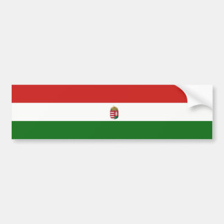 The flag of Hungary Bumper Sticker
