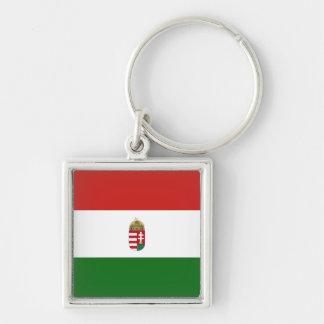 The flag of Hungary Key Ring