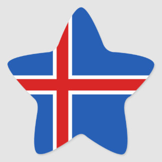 The Flag of Iceland Stickers
