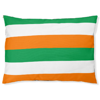 The Flag of Ireland Colors Large Outdoor Dog Bed