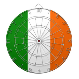 The Flag of Ireland Dartboard