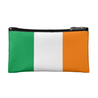 The Flag of Ireland, Irish Tricolour Cosmetic Bags