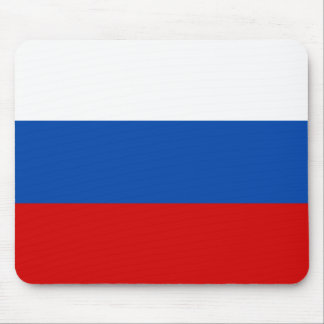 The flag of Russia Mousepads