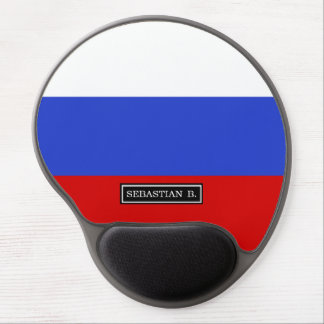 The Flag of Russian Gel Mouse Pad