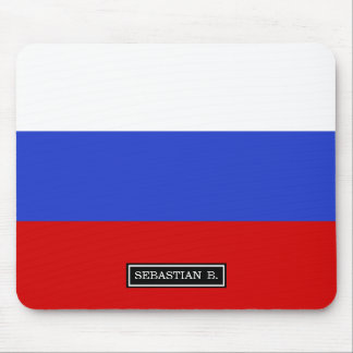 The Flag of Russian Mouse Pad