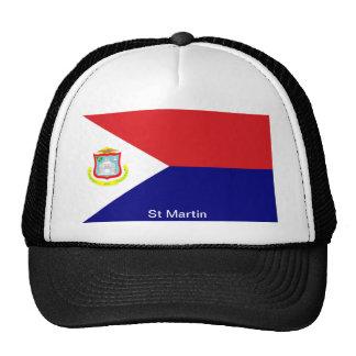 The Flag of St Martin Cap