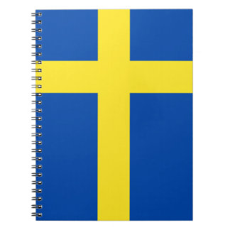 The Flag of Sweden Note Books