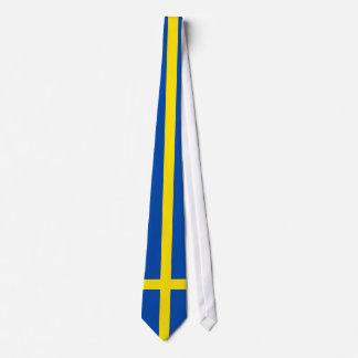 The Flag of Sweden Tie