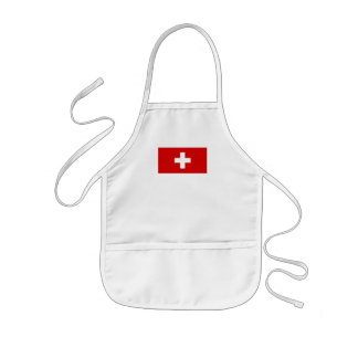 The flag of Switzerland Aprons