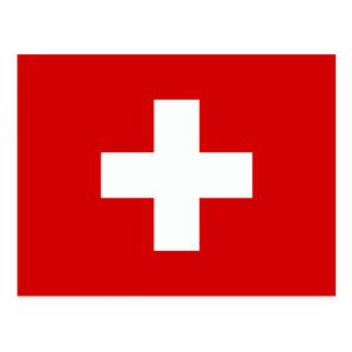 The Flag of Switzerland Postcard