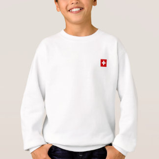 The Flag of Switzerland Sweatshirt