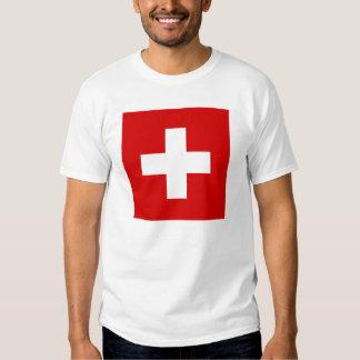 The Flag of Switzerland T-shirt