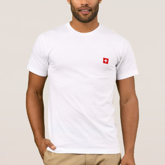 The Flag of Switzerland T-Shirt