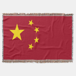 The flag of the People's Republic of China Throw Blanket