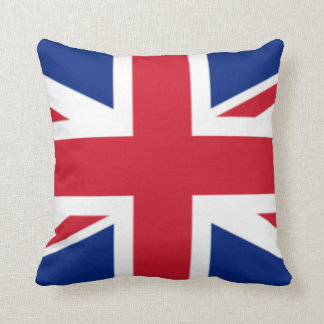 The Flag of the United Kingdom Throw Pillow