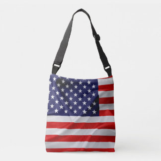 The Flag of the United States of America Crossbody Bag