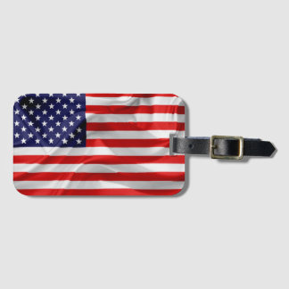 The Flag of the United States of America Luggage Tag