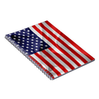 The Flag of the United States of America Spiral Notebook