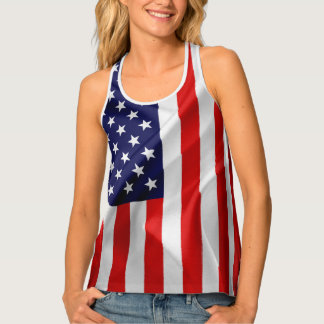 The Flag of the United States of America Tank Top