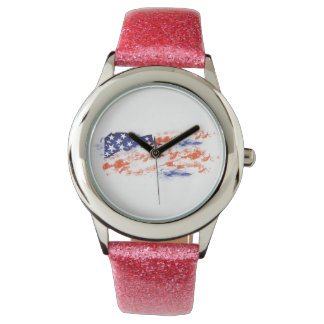 The Flag of Usa Watch