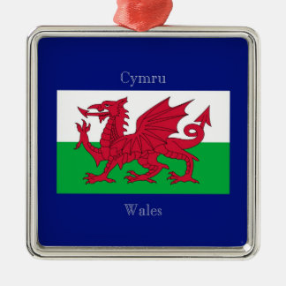 The Flag of Wales Christmas Ornament