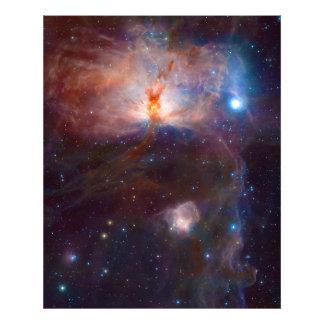 The Flame Nebula NGC 2024 Star Forming Region Art Photo