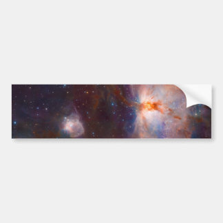 The Flame Nebula NGC 2024 Star Forming Region Bumper Stickers