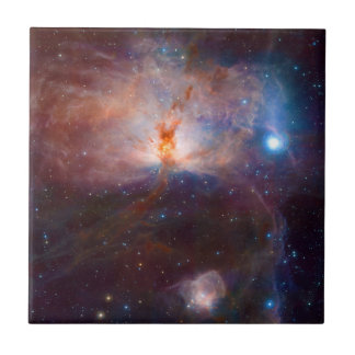 The Flame Nebula NGC 2024 Star Forming Region Small Square Tile