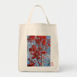 The Flame Trees Grocery Tote Bag