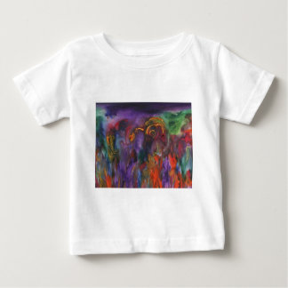 The Flaming Land Baby T-Shirt